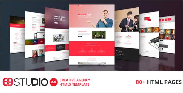 Studio Agency HTML5 Template
