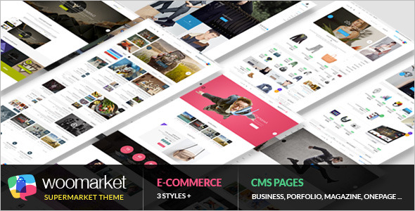 Supermarket WordPress WooCommerce Theme