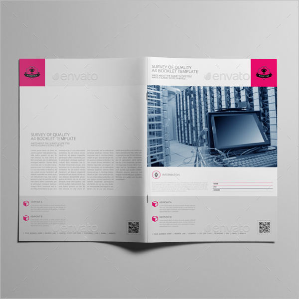 Survey of Quality Booklet Template