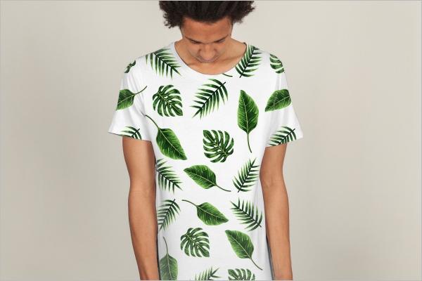 T-Shirt Print Mockup Design