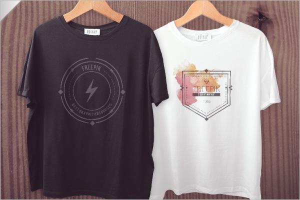 T-shirts mockup Free Template