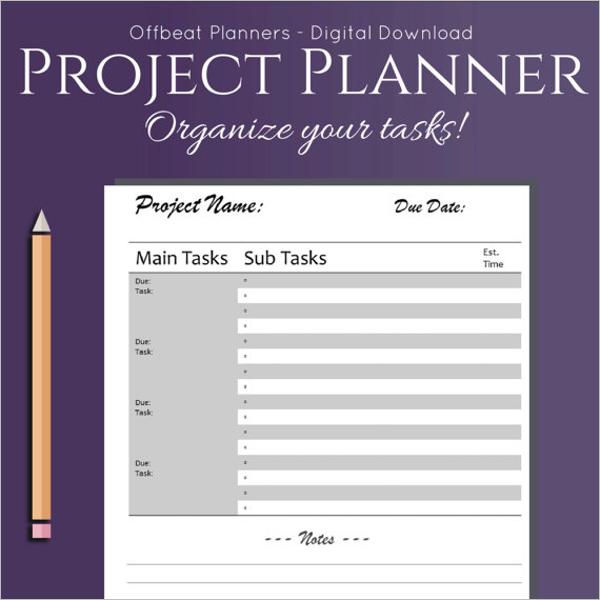 Task List Template Word