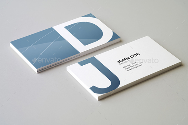 Texture Business Card Mockup Template