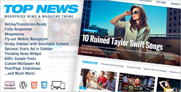 Top News SEO WordPress Theme