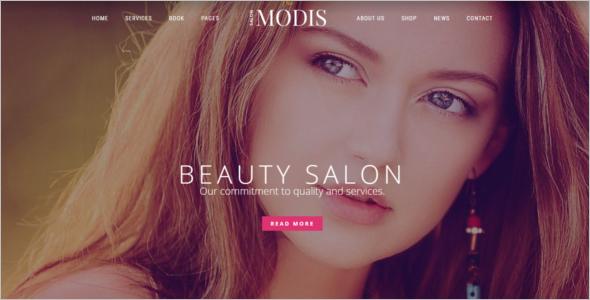 Top SalonWebsite Template