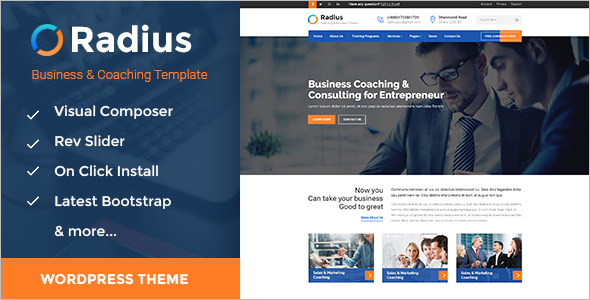 Training Consulting & Business WordPress Theme