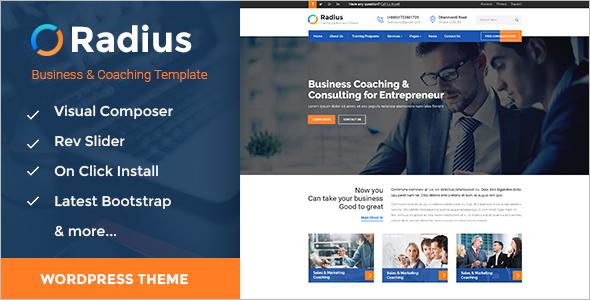Training Consulting & Business WordPress Theme