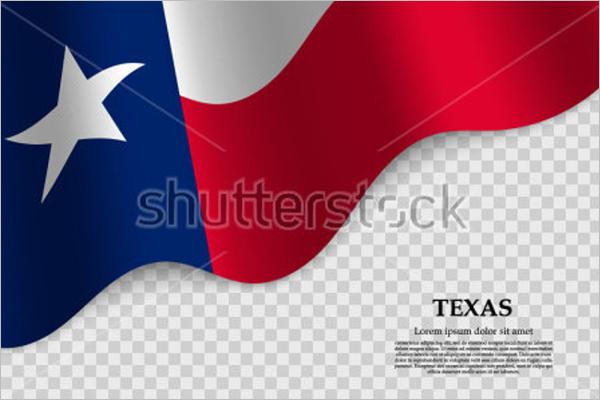 Transparent USA Flag Design