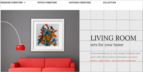 Trendy Furniture Ecommerce Theme