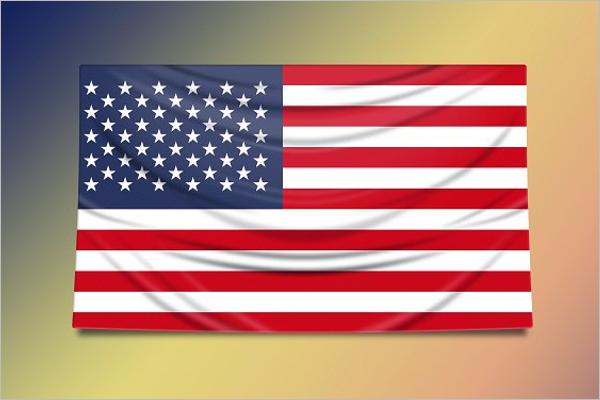 Vector US Flag Design
