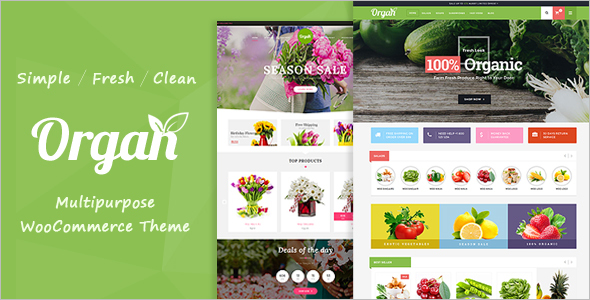 Vegetable Market WordPress Theme