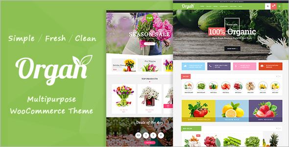 Vegetable Market WordPress Theme