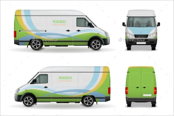 VehicleAdvertising Mockup Template