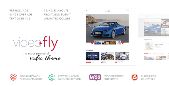 Video Sharing Website Theme