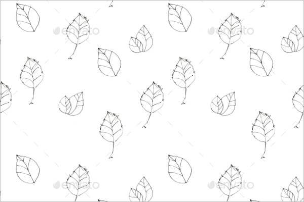 Vintage Seamless Leaves Design