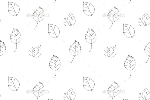 Vintage Seamless Leaves Design