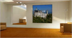 30+ Wall Poster Mockup Templates