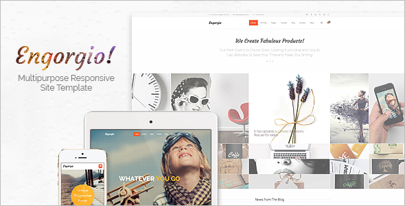 Web Design Agency Responsive Site Template