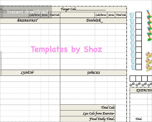 23+ Weight Loss Chart Templates Free Excel Formats