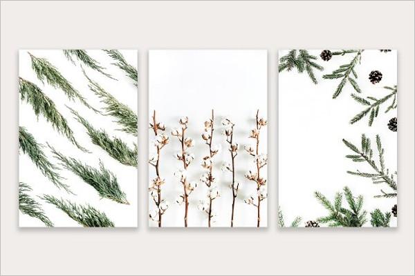 Winter Background Stock Design