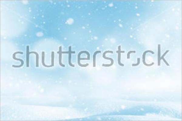 Winter Bright Background Design