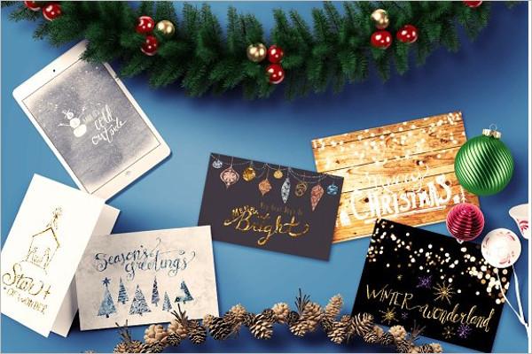 Winter Bundle Background Design