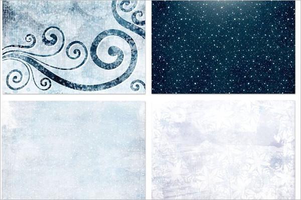 Winter Frost Background Design