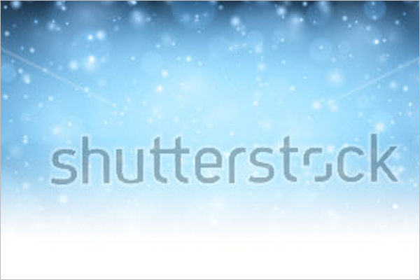 Winter Shining Background Design