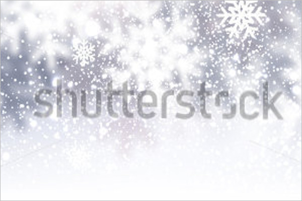 Winter Time Background Template
