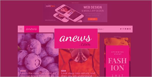 WordPress Blog Website Theme