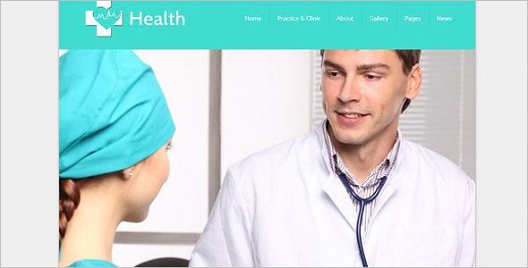 WordPress Doctor Theme
