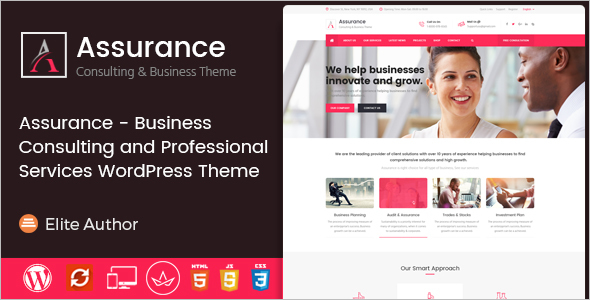 WordPress Theme for Business Services