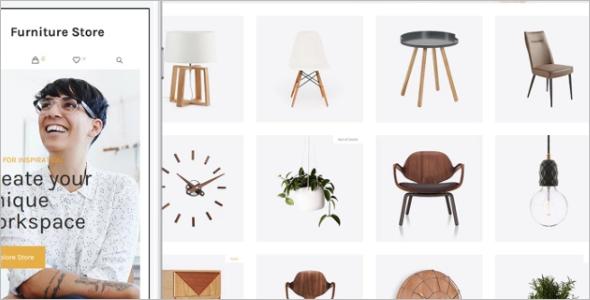 WordPress Theme for Furniture