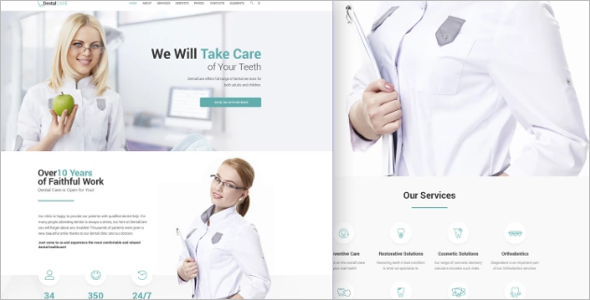 WordPress Theme for Hospital & Clinic