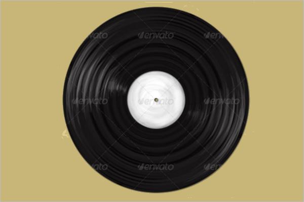 vinyl Record Banner Design
