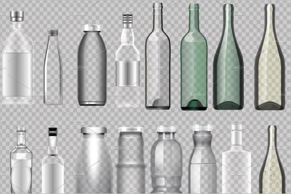 EmptyJuice Bottle Mockup Design