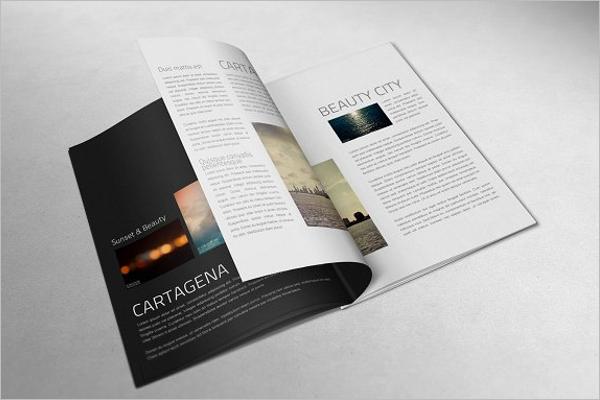 A4 Book Mockup Design