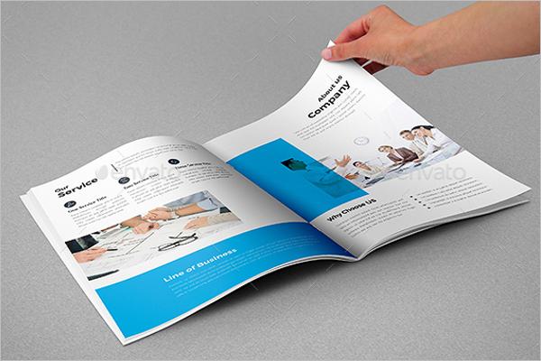 A4 Business Brochure Design