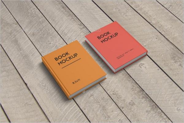 Abstract Book Mockup