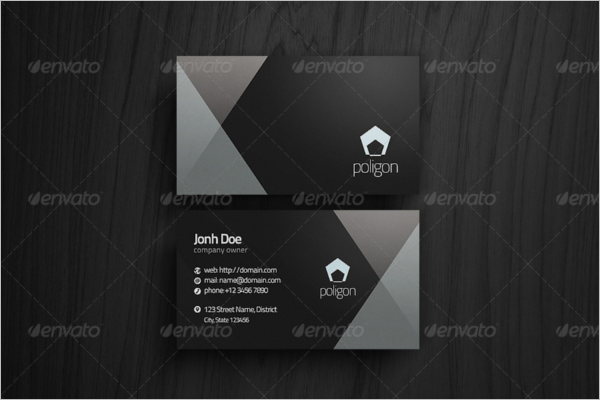 Abstract Lawyer Business Card Template