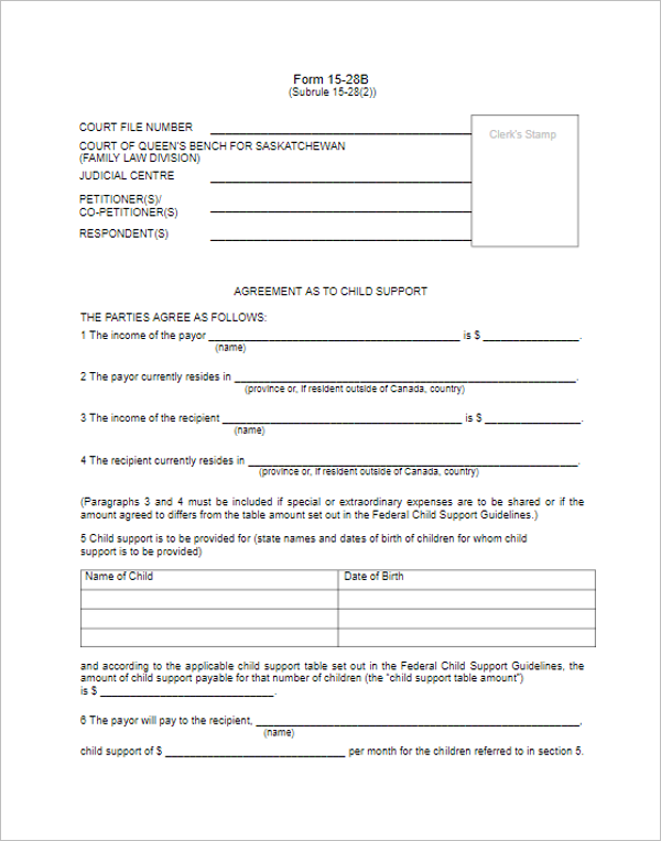 Agreement Divorce Paper PDF