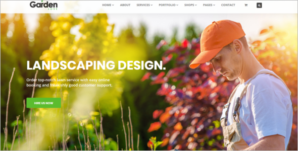 Agriculture HTML Website Template
