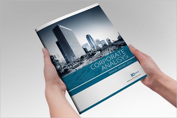 Annual Report Brochure Template