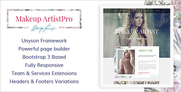 Best Artist Website Templates Free Premium Design Themes - Artist portfolio website templates