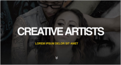 35+ Artist Website Design Templates