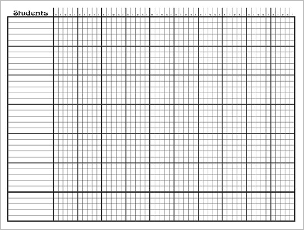 Attendance Sheet Organizer Excel  Attendance Sheet For Students