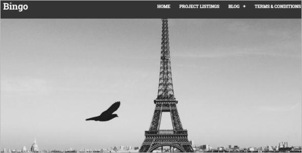 Auction Website Template WordPress
