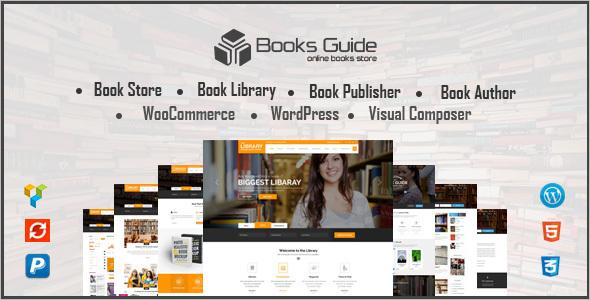 Author Portfolio Website Template