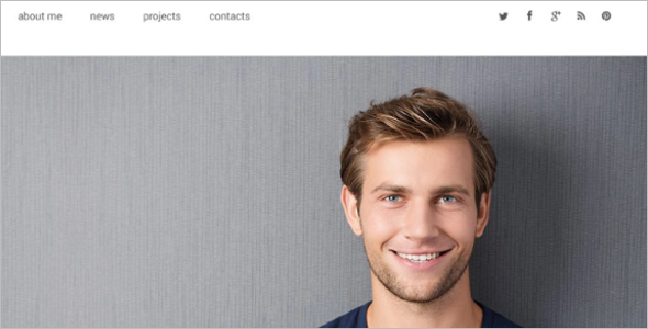 Author Website Idea Design