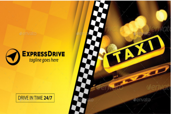 25 taxi business card templates free psd sample designs auto service business card design download reheart Images